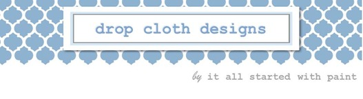 drop cloth designs header