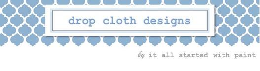 drop cloth designs header