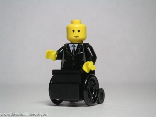 xavier X-men super heróis de lego desbaratinando