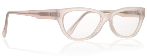 This style from Cutler abd Gross has the prettiest nudish-pink tint of color. $470 from net-a-porter.com