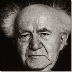 Photo of David Ben Gurion