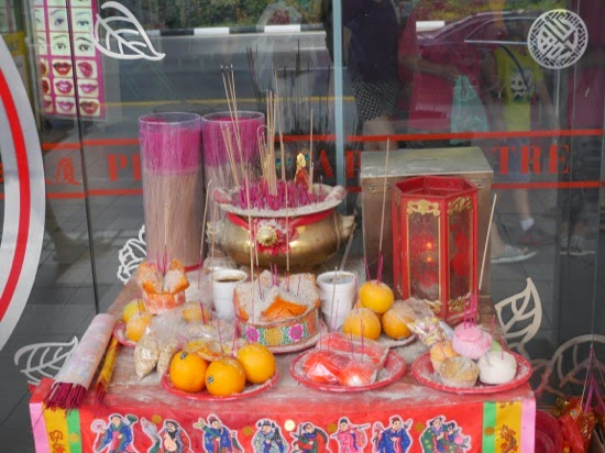 Hungry Ghost food shrine