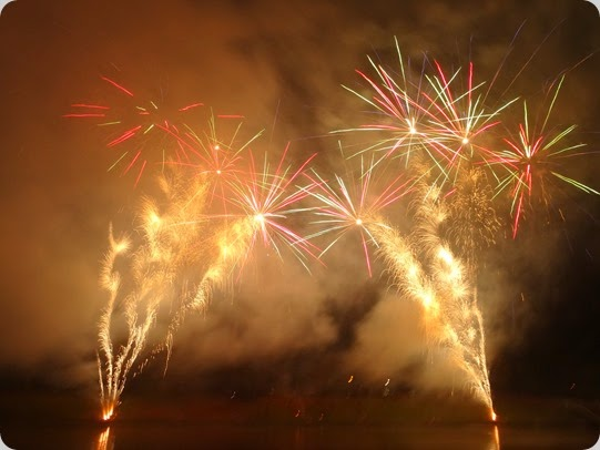 Crewe and Nantwich Lions Club - fireworks display