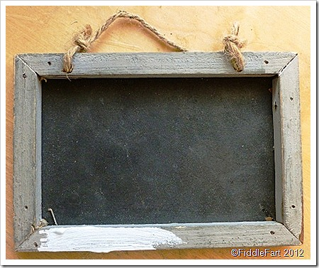 Gisela Graham mini chalkboard
