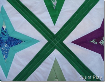 Diamond Star quilting
