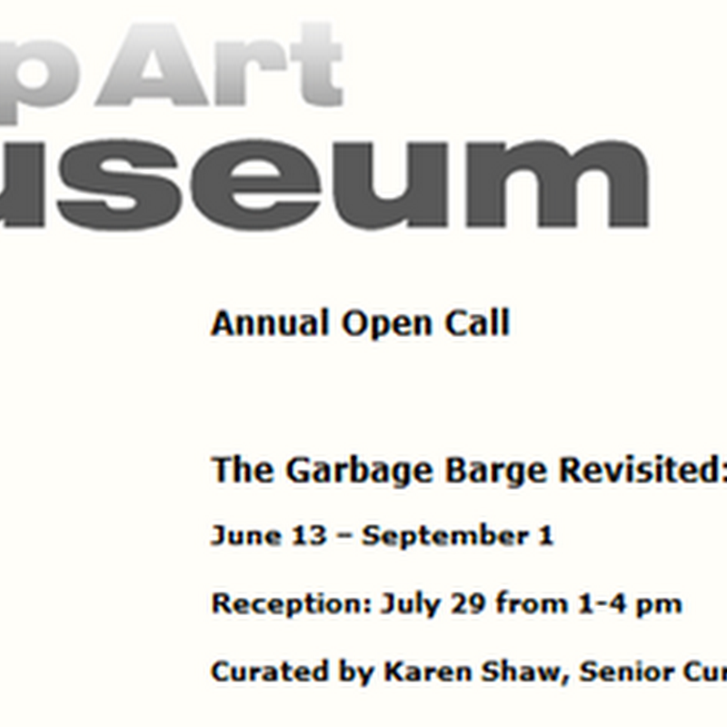 Islip Art Museum Annual Open Call – The Garbage Barge Revisited