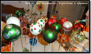 ornament dryer