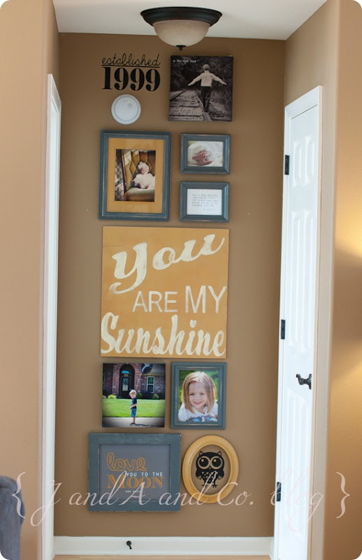 Sunshine photo wall-1
