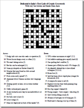 Anax Puzzle for Crossword Unclued