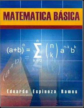 MATEMÁTICA BÁSICA - ESPINOZA RAMOS
