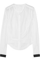 Karl Bao cotton-poplin shirt