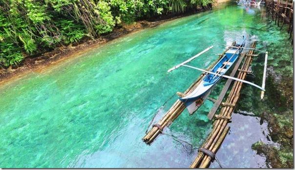 O Rio Encantado de Surigao, Filipinas (4)