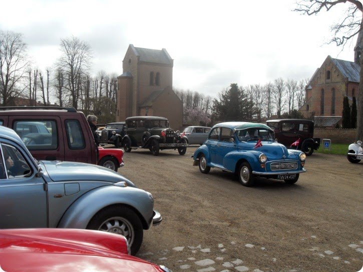 Veteranbiler ved Sorø Klosterkirke