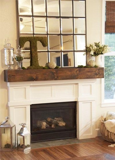 mantel idea