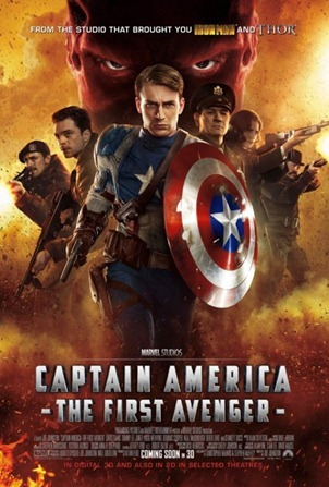 คลิปใหม่รอบสัปดาห์จากภาพยนตร์ Captain America [27 June–3 July 2011]