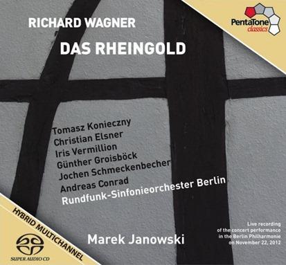 Richard Wagner: DAS RHEINGOLD [PentaTone PTC 5186 406]