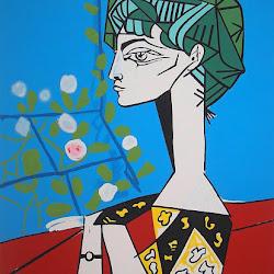Picasso, Jacqueline con flores 1954.jpg