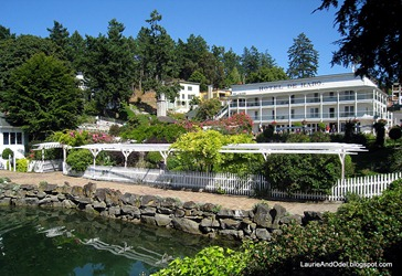 The resort at Roche Harbor