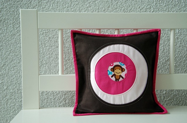 Portholes Pillow Monkey