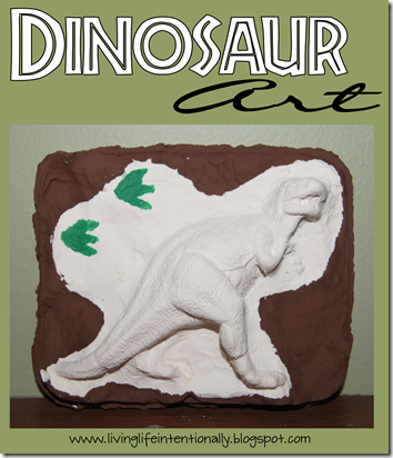 3D Dinosaur Art Project for Kids