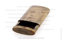 Brass matchbox