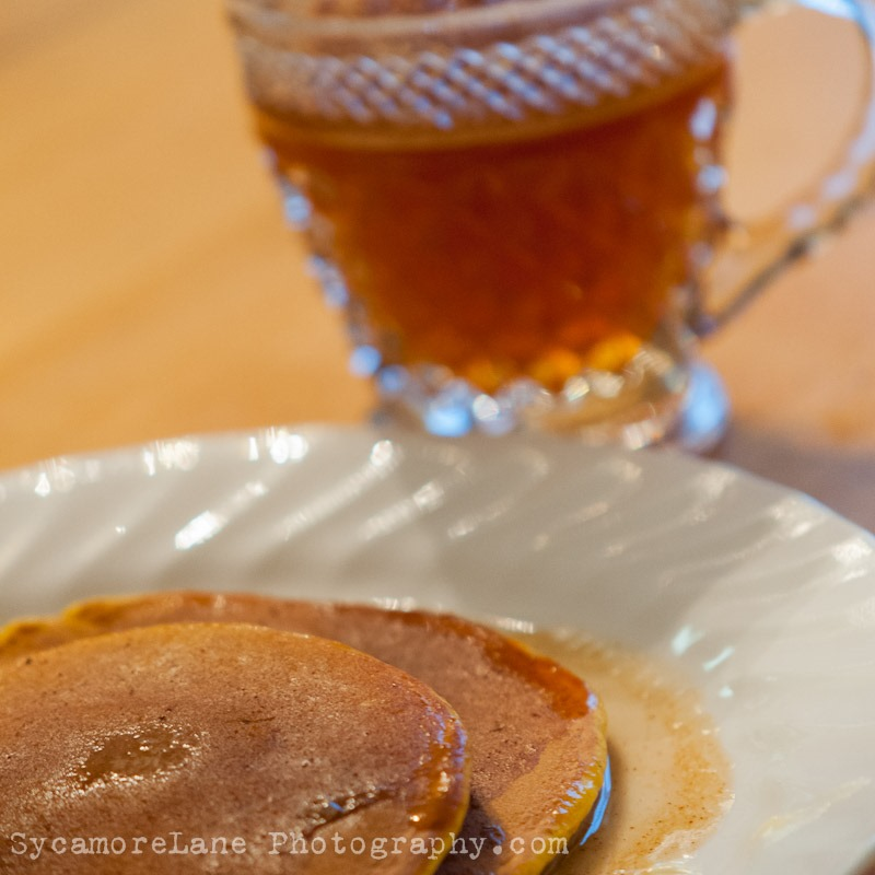 SycamoreLane Photography-Pumpkin Pancakes with Apple Cider Syrup