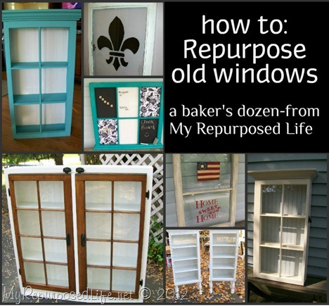 repurposed window projects