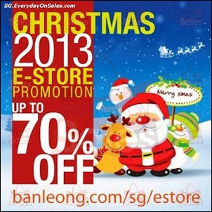 Ban Leong Online Christmas Promotion Singapore Jualan Gudang Jimat Deals EverydayOnSales Offers