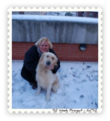 io e cesare neve