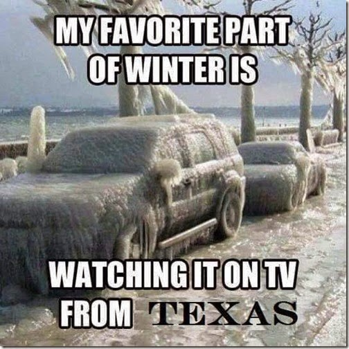 winter on tv