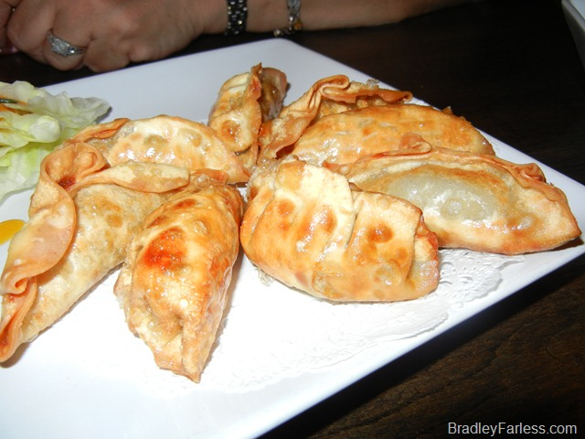 Fried dumplings from Boka: Bon Chon, NYC.