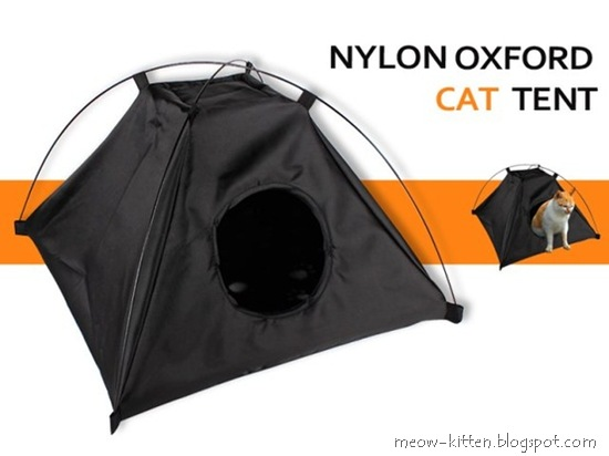 Cat Tent with Detachable Cushion
