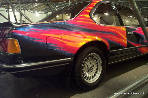 Ernst Fuchs, 1982, BMW 635 CSi