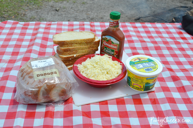 Camping Recipe - Pie Iron Pizza