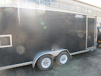 Here it is - the trailer that's going up to Maine - Let's have a look inside and make sure everything is packed securely for Carlos.