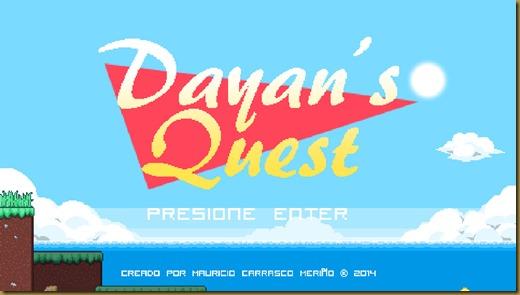 Dayan's Questタイトル