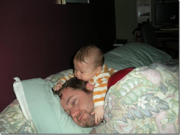Sonequinha com o papai