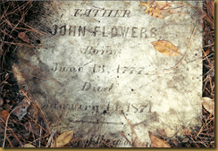 John Flowers Tombstone