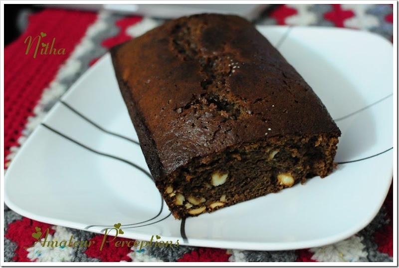 Chocolate Banana Cake 15