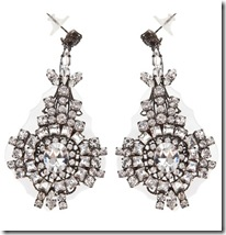 Erickson Beamon Diamante Earrings