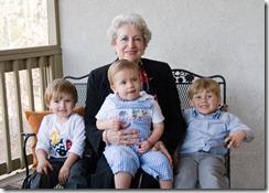 Mamama with grandkids