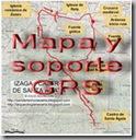 Mapa y soporte GPS - Tres Hayas - Irupagoeta