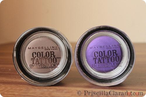 Maybelline Color Tattoo Taupe Purple Priscilla Clara beauty blogger