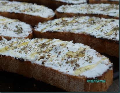 tostas de requeson con oregano2 copia