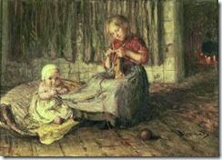 Bernardus Johannes Blommers-Baby Sitting