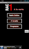 Screenshot of RAC1 On demand