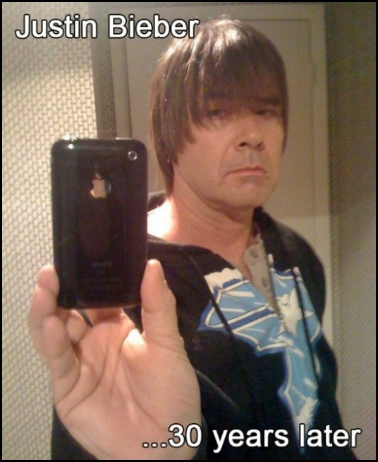 justin bieber 30 years later