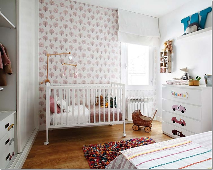 Pretty Pastel Colors in Nursery-design addict mom