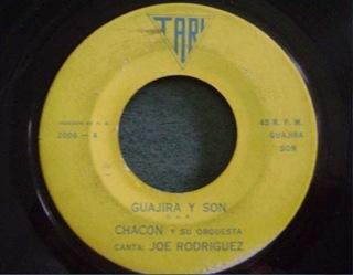Chacon y su Orquesta 45 rpm