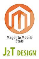 Screenshot of J2T Magento Mobile Stats